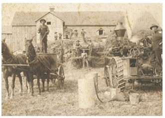 McLeansFarmThreshingBeec1900-ArchivesLanark